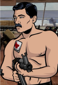 Archer with Mustache